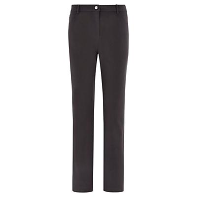 Viyella Straight Leg Jeans, Charcoal