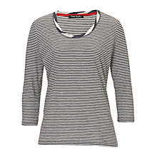 Buy Betty Barclay Striped Tee, Dark Blue/Cream Online at johnlewis.com