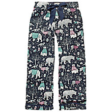 Buy Fat Face Sketchy Animals Pyjama Pants, Twilight Online at johnlewis.com