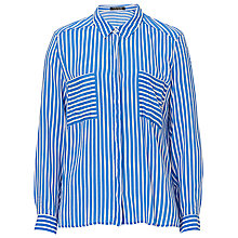 Buy Betty Barclay Striped Shirt, Blue/White Online at johnlewis.com