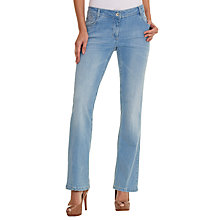 Buy Betty Barclay Boot Cut Sara Jeans, Light Blue Denim Online at johnlewis.com