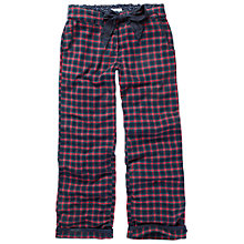 Buy Fat Face Small Grid Check Pyjama Pants, Twilight Online at johnlewis.com
