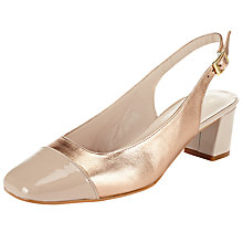 Buy John Lewis A Casa Block Heeled Court Shoes Online at johnlewis.com
