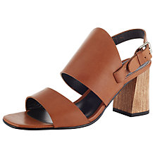 Buy Kin by John Lewis Margit Double Strap Block Heeled Sandals Online at johnlewis.com