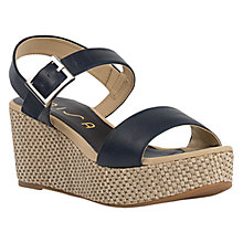 Buy Unisa Kibon Wedge Heeled Sandals Online at johnlewis.com