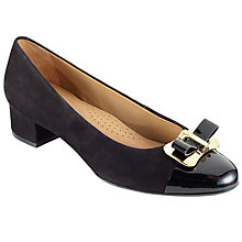 Buy John Lewis Annalise Block Heeled Court Shoes Online at johnlewis.com