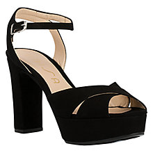Buy Unisa Veneta Block Heeled Platform Sandals Online at johnlewis.com