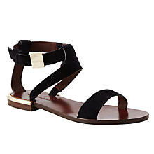 Buy See by Chloé Flat Ankle Strap Sandals Online at johnlewis.com