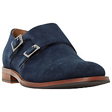 Buy Dune Brigadier Double Buckle Monk Shoes Online at johnlewis.com