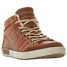 Buy Dune Soloman Embossed Hi-Top Trainers Online at johnlewis.com