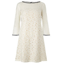 Buy Marella Prisca Lace Dress, Ivory Online at johnlewis.com