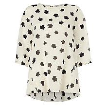 Buy Marella Yellow Popcorn Print Blouse, Ivory Online at johnlewis.com