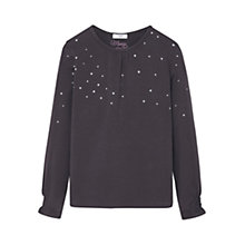 Buy Mango Kids Girls' Glitter Polka Dot T-Shirt Online at johnlewis.com