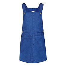 Buy Kin by John Lewis Girls' Denim Pinafore Dress, Blue Online at johnlewis.com