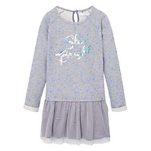 Buy Mango Kids Girls' Tulle Skirt Dress, Grey Online at johnlewis.com