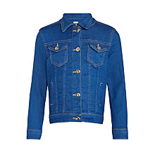 Buy Kin by John Lewis Girls' Denim Jacket, Blue Online at johnlewis.com