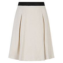 Buy Ted Baker Daaras Mini Tailored Skirt, Natural Online at johnlewis.com