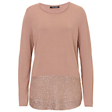 Buy Betty Barclay Fine Knit Tunic Jumper, Golden Taupe Online at johnlewis.com