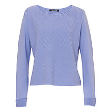 Buy Betty Barclay Chevron Knit Jumper, Lavender Blue Online at johnlewis.com