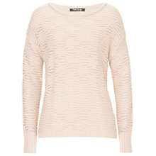 Buy Betty Barclay Metallic Knit Jumper, Powder Coral Online at johnlewis.com