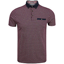 Buy Ted Baker Rovina Circle Print Polo Shirt Online at johnlewis.com