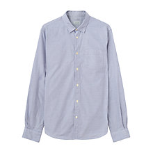 Buy Jigsaw Mouline Check Slim Shirt Online at johnlewis.com