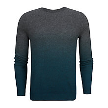 Buy Ted Baker Holaday Sprayed Ombre Jumper, Charcoal Online at johnlewis.com