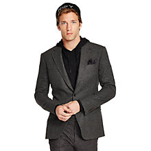 Buy Polo Ralph Lauren Bedford Glen Plaid Blazer, Black/Grey Online at johnlewis.com