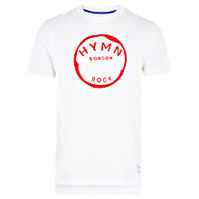 Buy HYMN Carnival Placement Rock Print T-Shirt Online at johnlewis.com