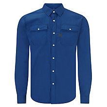 Buy G-Star Raw Landoh Shirt, Swedish Blue Heather Online at johnlewis.com