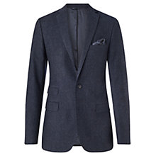 Buy Jigsaw Micro Houndstooth Suit Jacket, Navy Online at johnlewis.com