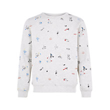 Buy HYMN Grant Embroidered Sweaterr, Ecru Online at johnlewis.com
