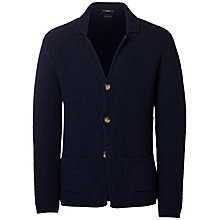 Buy Selected Homme Firenze Knitted Blazer, Navy Online at johnlewis.com
