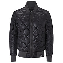 Buy G-Star Raw Batt Quilted Bomber Jacket, Black Online at johnlewis.com