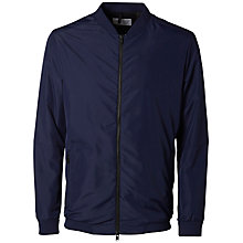 Buy Selected Homme Luke Bomber Jacket, Medieval Blue Online at johnlewis.com