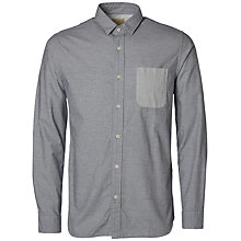 Buy Selected Homme Aiden Shirt, Medieval Blue Online at johnlewis.com