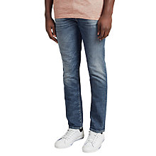 Buy Selected Homme Two Mario Slim Jeans, Blue Online at johnlewis.com