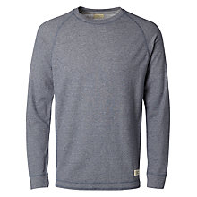 Buy Selected Homme William Long Sleeve T-Shirt, Medieval Blue Online at johnlewis.com