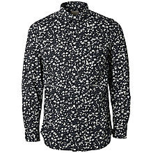 Buy Selected Homme One Curtis Print Shirt, Blue Fox Online at johnlewis.com