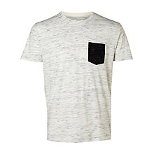 Buy Selected Homme Indi Contrast Pocket T-Shirt Online at johnlewis.com