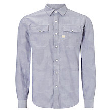 Buy G-Star Raw Landoh All Over Print Shirt, Swedish Blue/Milk Online at johnlewis.com