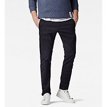 Buy G-Star Raw Bronson Slim Fit Chinos, Mazarine Blue Online at johnlewis.com