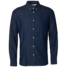 Buy Selected Homme One Nolan Denim Shirt, Denim Online at johnlewis.com
