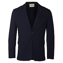 Buy Selected Homme Caden Tailored Blazer, Navy Blazer Online at johnlewis.com