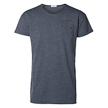 Buy Selected Homme Beech T-shirt, Dark Sapphire Online at johnlewis.com
