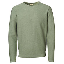 Buy Selected Homme Hunter Crew Neck Sweatshirt, Sea Spray Melange Online at johnlewis.com