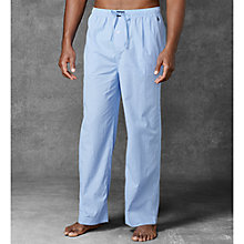 Buy Polo Ralph Lauren Mini Gingham Cotton Lounge Pants, Blue Online at johnlewis.com