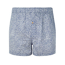 Buy Paul Smith Floral Woven Boxers, Blue Online at johnlewis.com