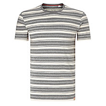 Buy Paul Smith Stripe Cotton T-Shirt, Grey Online at johnlewis.com