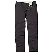Buy Fat Face Cotton Twill Trousers, Phantom Online at johnlewis.com